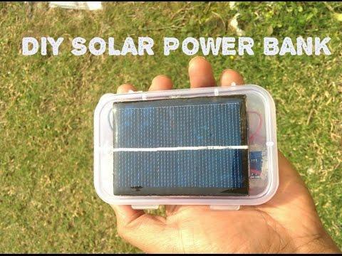 Пауэр банк с солнечной батареей своими руками