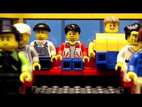 KOCAK??? Film LEGO CITY BUS (BAHASA INDONESIA)   BUSSID CHANEL
