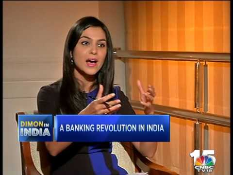 JAMIE DIMON, JP MORGAN in a CNBC-TV18 Exclusive (2)