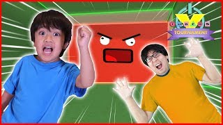 Tournament Finale ! Let's Play Roblox Crushed by Speeding Wall with Ryan Vs Daddy