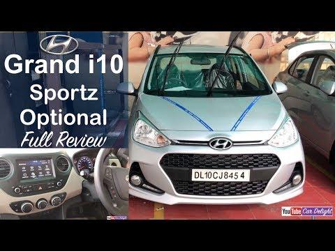 Hyundai Grand i10 2017 Sportz Optional Interior,Exterior,Music System Full Review and Walkaround