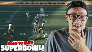 DON'T EVER DO THIS IN YOUR SUPERBOWL GAME... Madden 18 RTE ep. 10