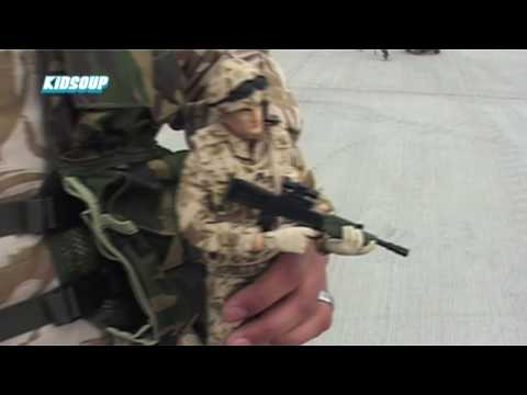 KidSoup #7 - Armed Forces Action Figures Launch Video