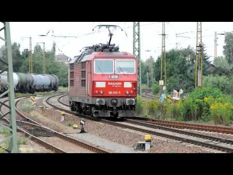 railfanning germany; BR 180 013 5 mit typisch tschechischem Pfiff