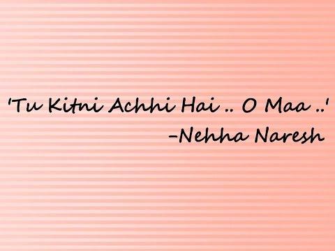 Tu Kitni Achhi Hai (raja Aur Runk) Cover | Nehha Naresh video