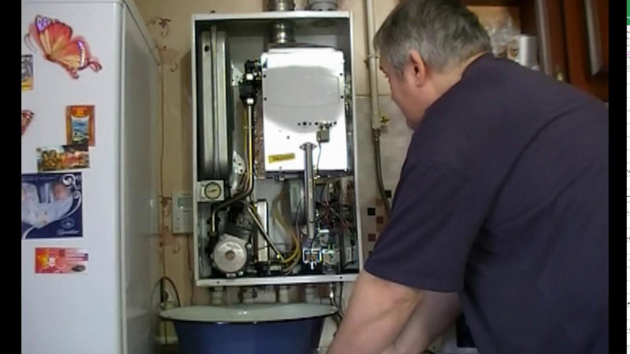 Чем промыть газовый котел навьен своими руками 81