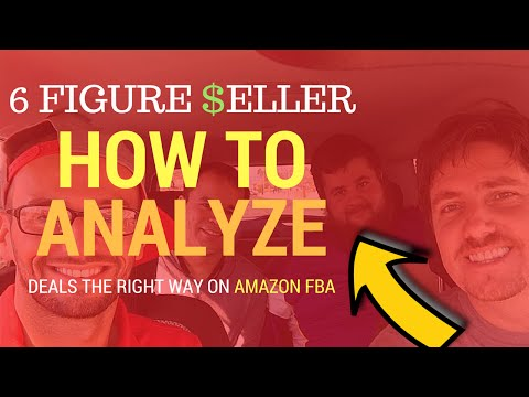 6 Figure Seller Jonathan Cleator Reveals How to Analyze Deals on Amazon FBA