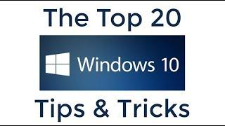 Top 20 Windows 10 Tips en trucs