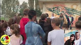 ROSOLINA - INAUGURAZIONE OPERA DI JESSICA FERRO  28/9/2019