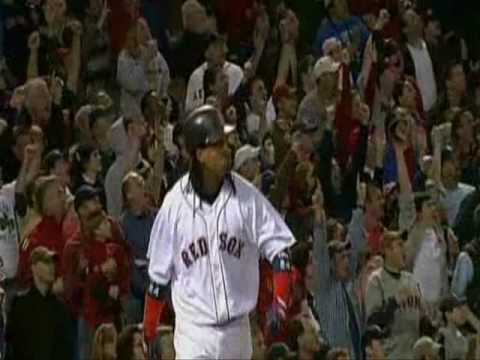 Boston Red Sox Manny Ramirez Retires - Take A Bow - Song Leona Lewis Take A Bow.