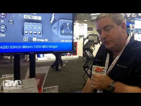 CEDIA 2015: Russound Showcases TVA2.1 Digital Two-Channel TV Amplifier with IR Learning