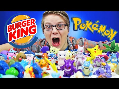 POKEMON BURGER KING TOYS (1999)