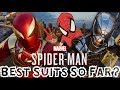 Spider Man PS4 ALL Turf Wars DLC Suits Gameplay Showcase Overall Thoughts Best Suits So Far mp3
