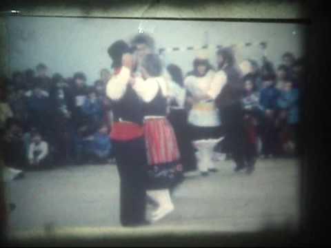 Rancho Folcl�rico de professores, Escola EB 2/3  Vilar de Andorinho  1983