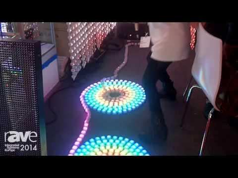 ISE 2014: Shenzhen VTeam Shows Customized LED Displays
