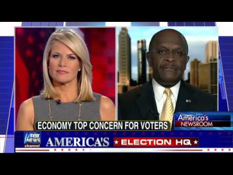 Fox's Spin 1.0: Mr 999 ( Herman Cain) explains Obama's win