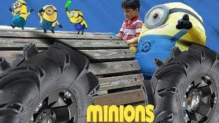 Minion In the Park | minion in real life | Kids Fun Time | Jai Bista Show