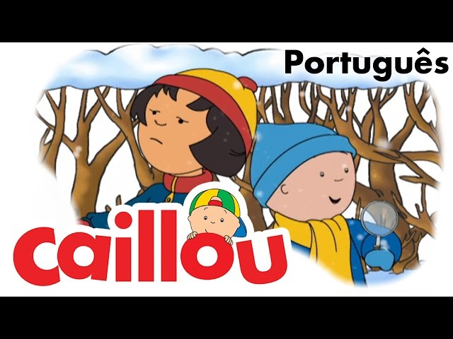 CAILLOU PORTUGUÊS - Flocos de neve (S04E06)