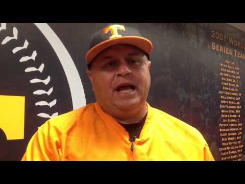 Dave Serrano: Tennessee Baseball vs. Texas A&M (5/18/13)