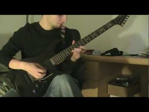 Arch Enemy - Ravenous (Cover with solo)
