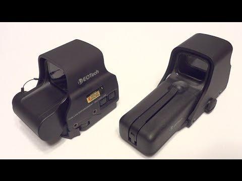L3 EOTech 552 vs EXPS 2 HWS Red Dot Sight