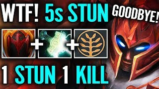 5s Stun - Na'Vi Dendi Dragon Knight Dota 2 gameplay