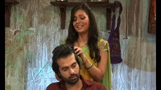 Do Dil Bandhe Ek Dori Se Shivani gives head massage to Raghu  Bollywood Country Videos