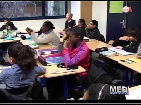 France : Langue arabe, l'enjeu social