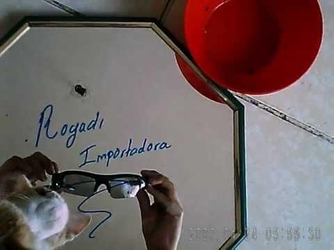 Lentes Gafas Oscuras Deportivas Con Camara Espia Digital de 5mp Toma Fotografias Graba Video o Audio
