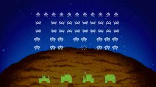 Space Invaders Japan SEGA SATURN HYPERSPIN NOT MINE VIDEOS