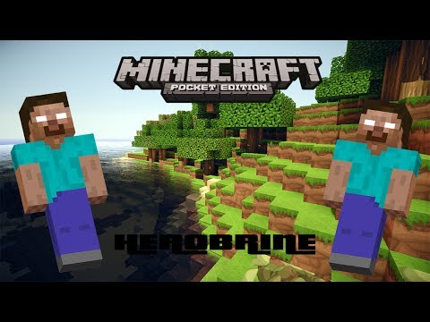 Minecraft PE: I FOUND HEROBRINE AGAIN