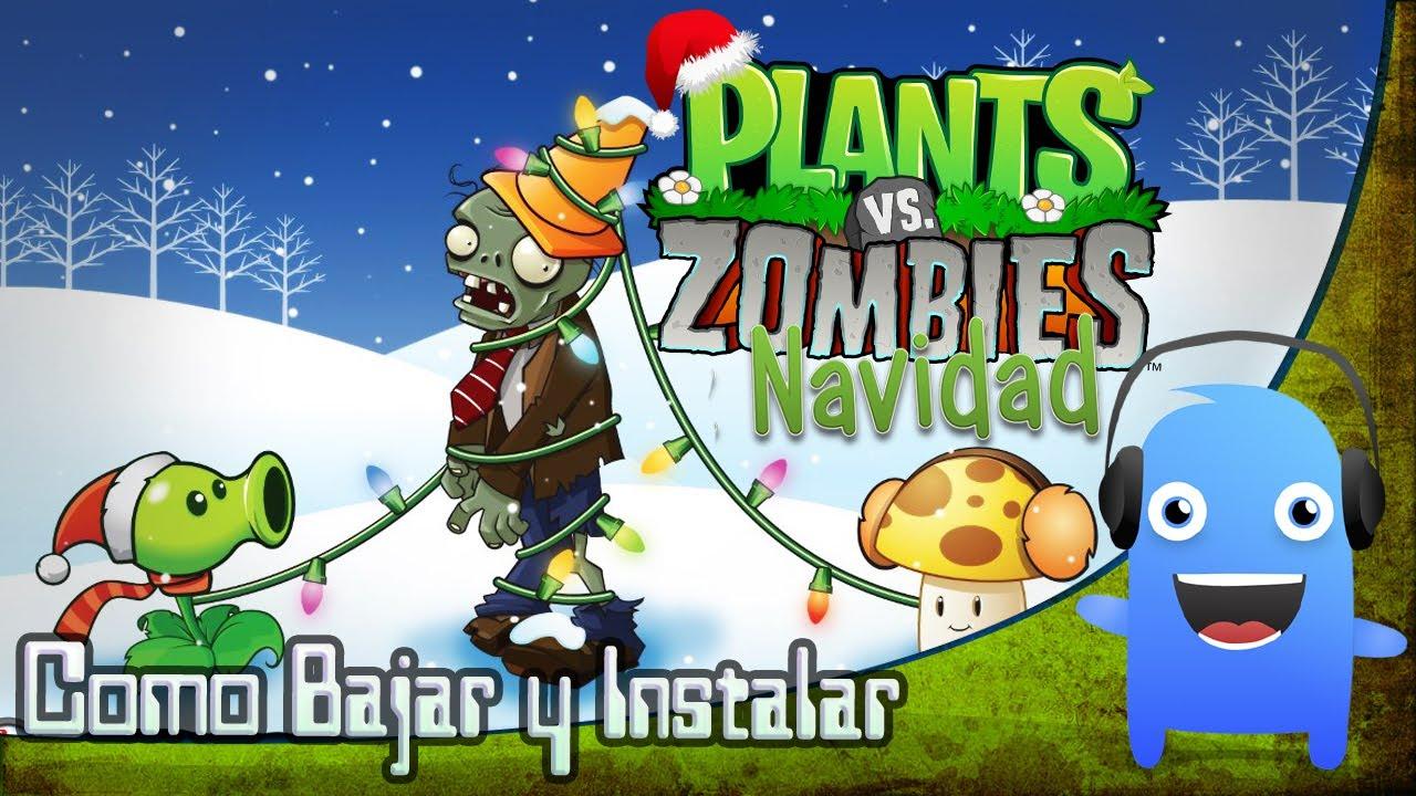 Planta vs Zombies Navidad