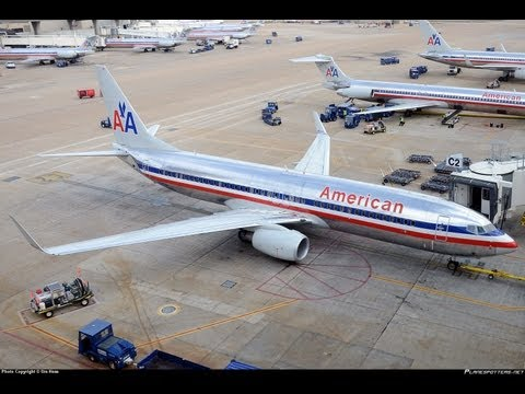 HD American Airlines 737-800 Takeoff From Dallas/Fort Worth