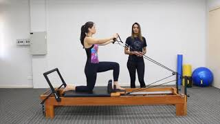 Exercícios de Pilates no Reformer para Patologias na Coluna