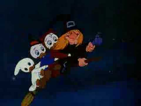 Donald Duck - Trick Or Treat - 1952 (English) Video
