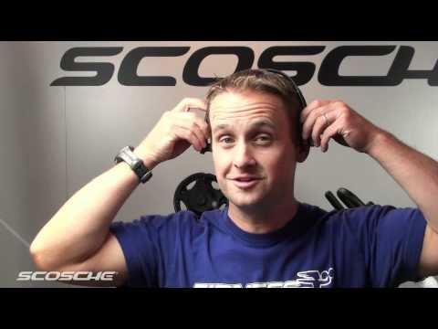 Scosche TuneStream HZ8 Bluetooth Headphones