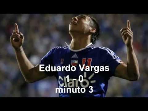 gran tributo a Eduardo Vargas y U de Chile Campeon invicto Copa Sudamericana 2011 adn radio