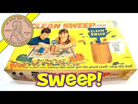 Clean Sweep Board Game #600, 1967 Schaper