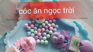 Khui hộp đồ chơi/ Cóc ăn Ngọc Trời/ Frogs subsonic/ bé út chibi