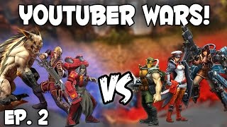 CRAZY CLOSE MATCH!! CP Fortress | Vainglory Youtuber Wars Ep. 2 [CP Fortress Jungle Gameplay]