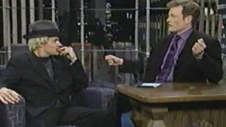 Flea Interview on Conan1997