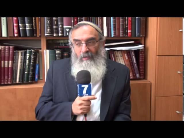 Rabbi David Stav: State and Religion in Israel