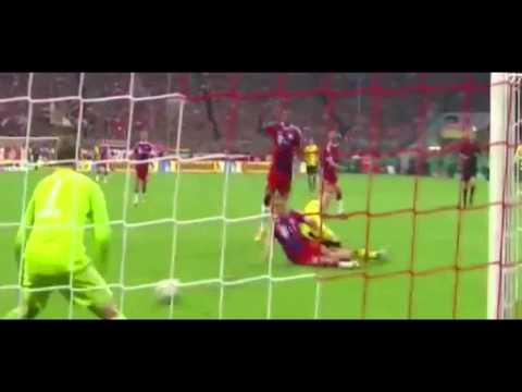 Amazing Save Manuel Neuer  Bayern Munich vs Borussia Dortmund 1-1 DFB Pokal 28/ 2015