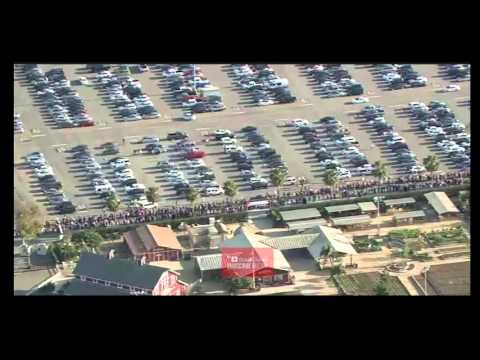 Video Of MASSIVE Line At Donald Trump Costa Mesa Event. Dishonest Media Can't Hide This