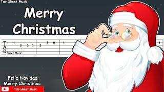 We Wish You A Merry Christmas Guitar Tutorial (Tab)