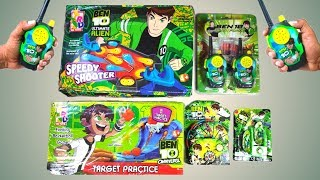 Ben 10 Toys Collection, Ben 10 Walkie Talkie, Ben10 Flight Ring, Ben 10 Basketball