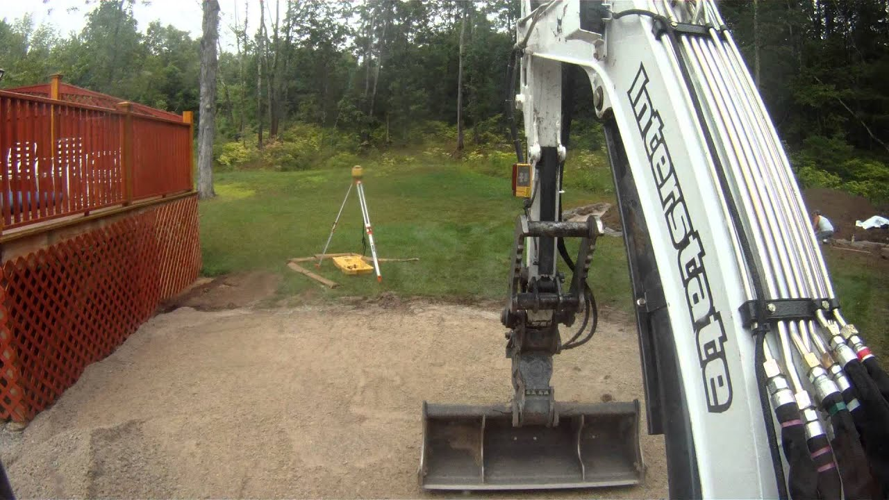 how to set up a topcon pipe laser
