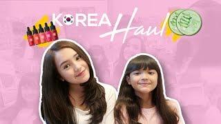 Beby Tsabina - KHILAF DI KOREA!! (Korea Haul)
