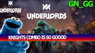 KNIGHTS IS OP IN DOTA UNDERLORDS