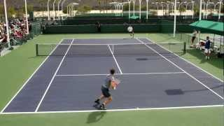 Andy Murray Practice 2013 BNP Paribas Open Part 3